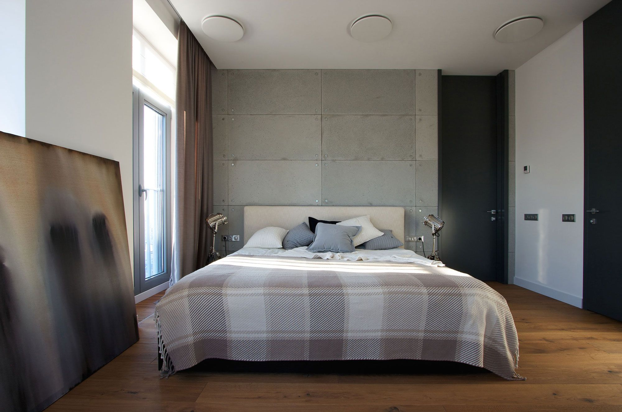 Green Grass Walls Apartment by SVOYA Studio-11