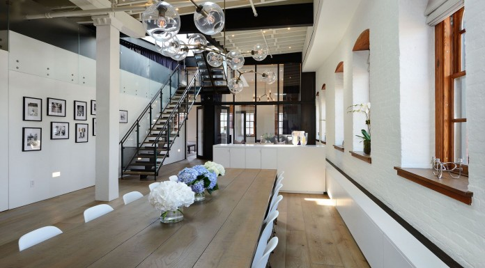 Greenwich Street Penthouse by Turett Collaborative Architects