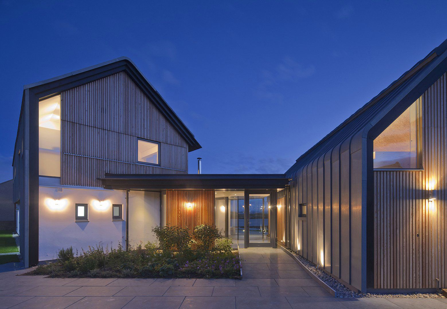 House in elie by wt architecture caandesign for Modern house uk