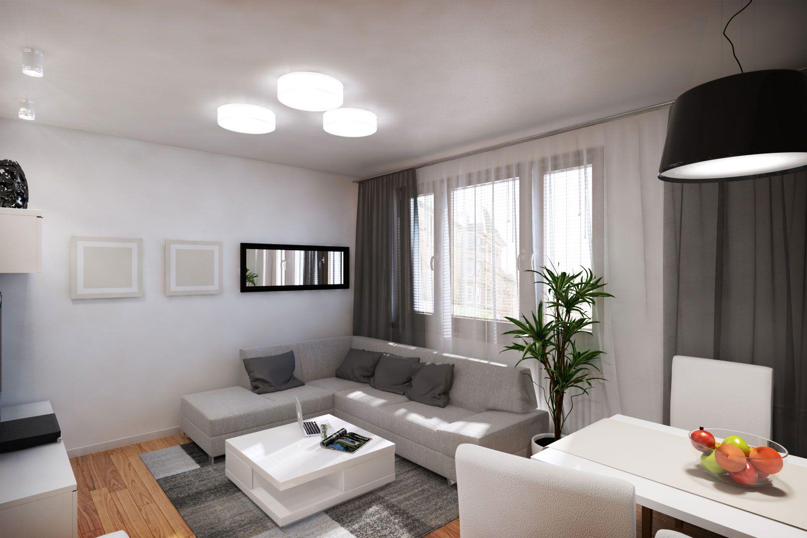 Interior r by 110 studio caandesign architecture and for Muebles departamento pequeno
