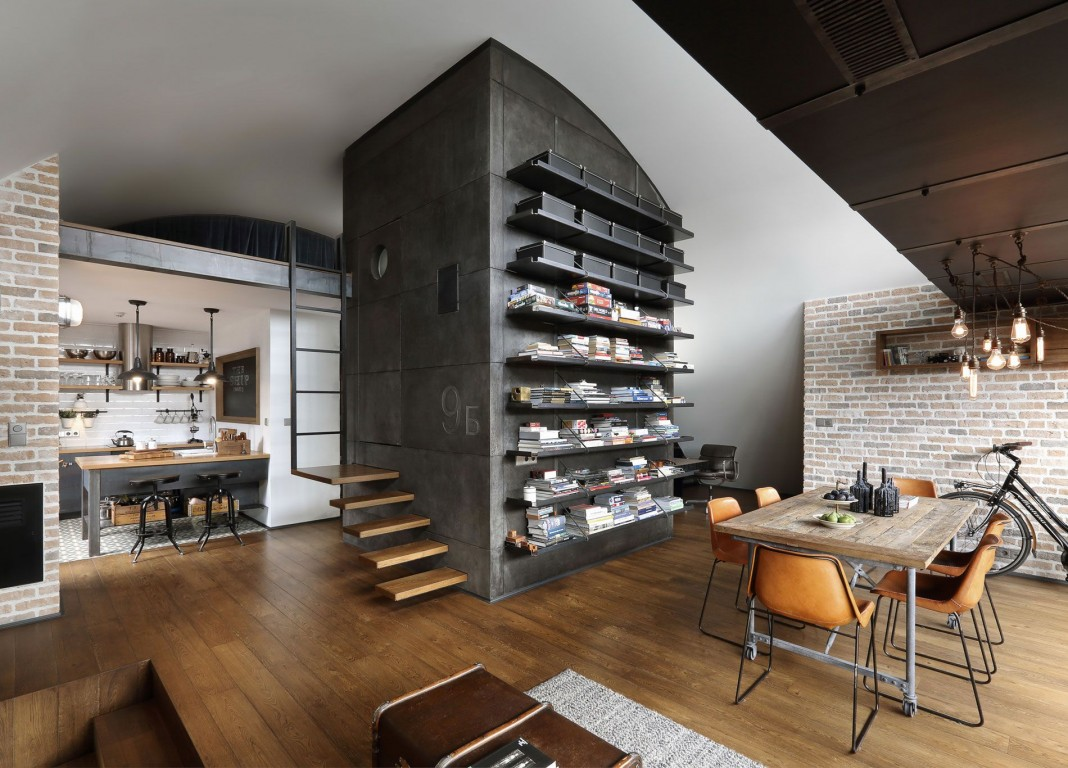 Loft B By Dimitar Karanikolov CAANdesign Architecture And - Loft home design