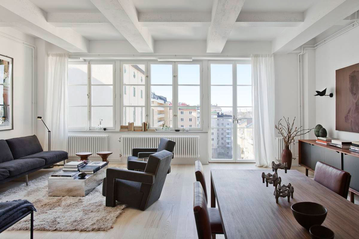 Loft Apartment Located in a Former Chocolate Factory in Stockholm-04