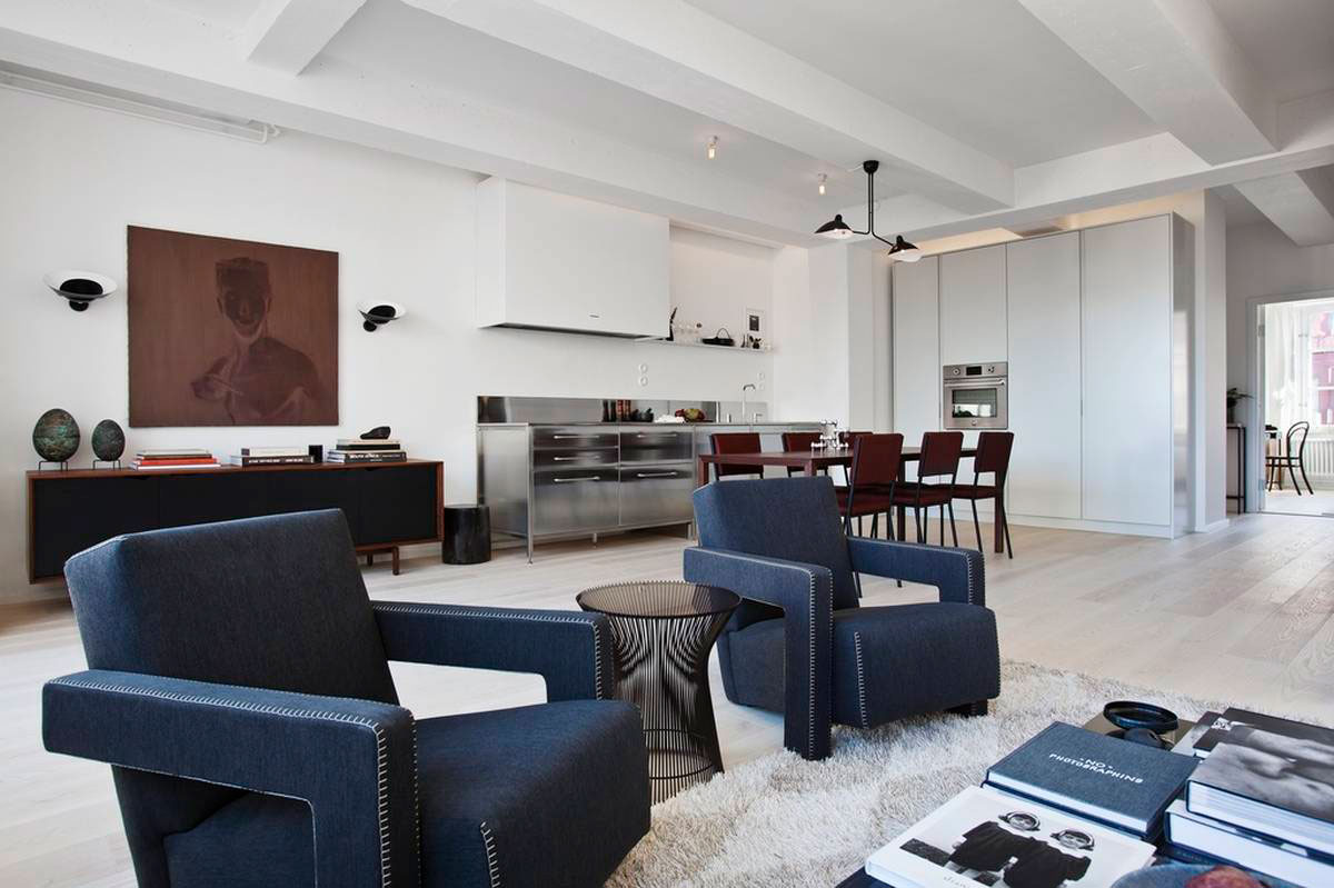 Loft Apartment Located in a Former Chocolate Factory in Stockholm-05