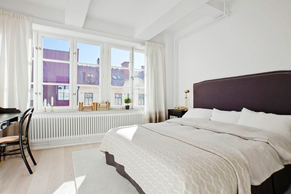Loft Apartment Located in a Former Chocolate Factory in Stockholm-11