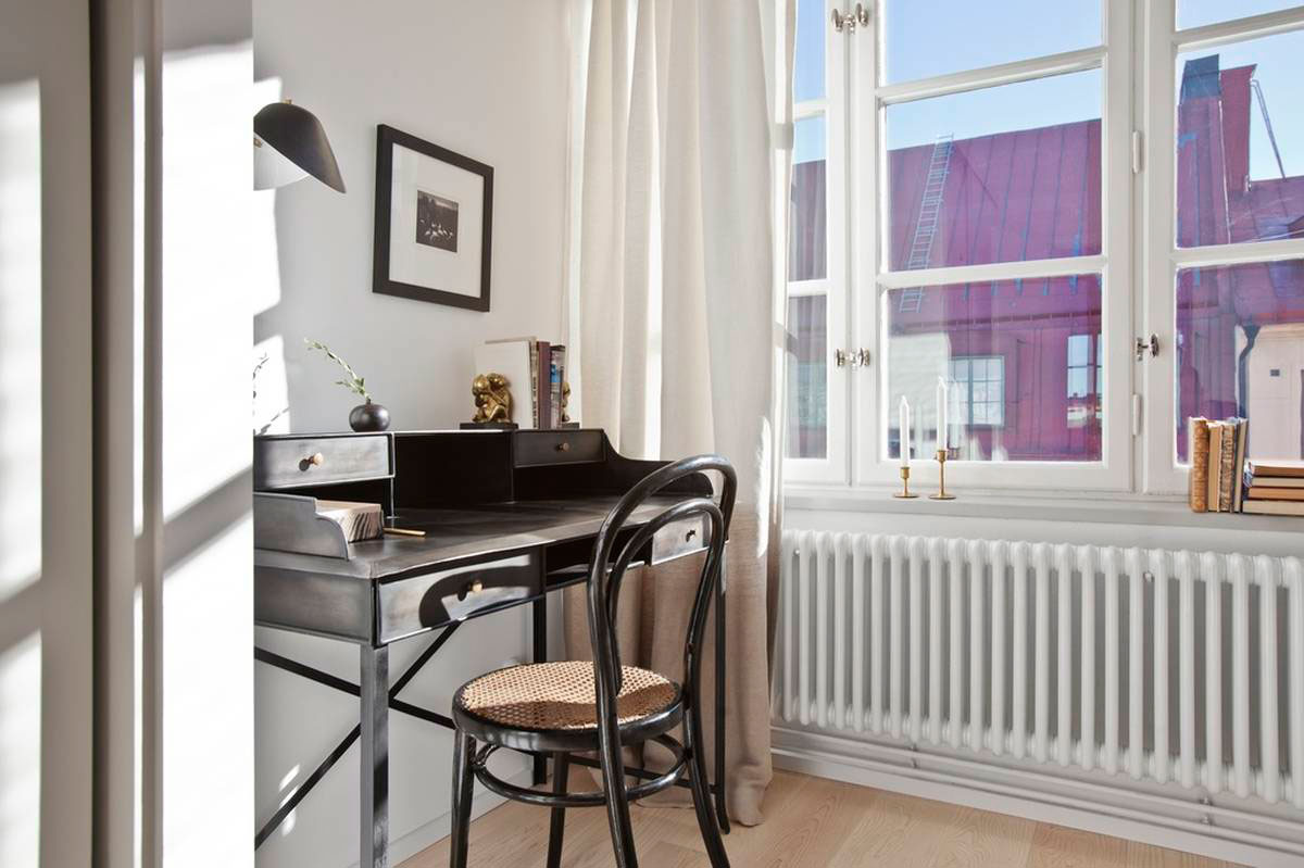 Loft Apartment Located in a Former Chocolate Factory in Stockholm-14