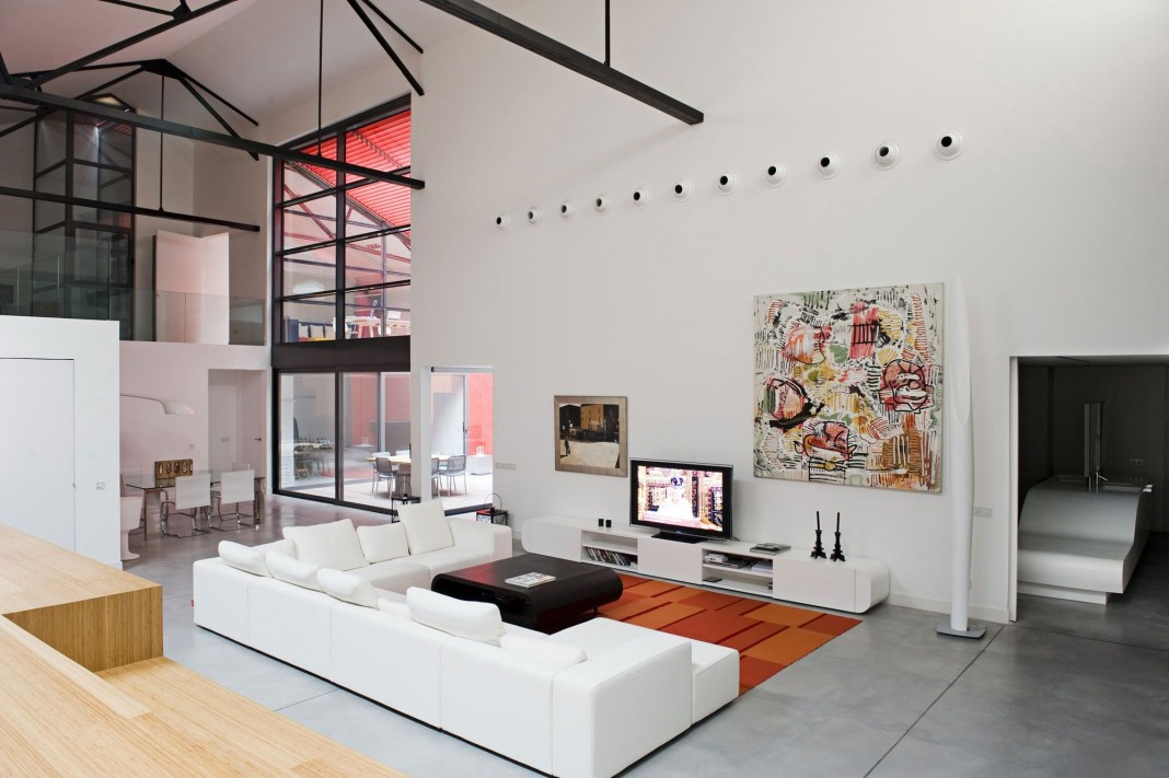 Contemporary Bordeaux Loft by Teresa Sapey Estudio - CAANdesign ...