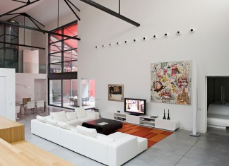 Contemporary Bordeaux Loft by Teresa Sapey Estudio