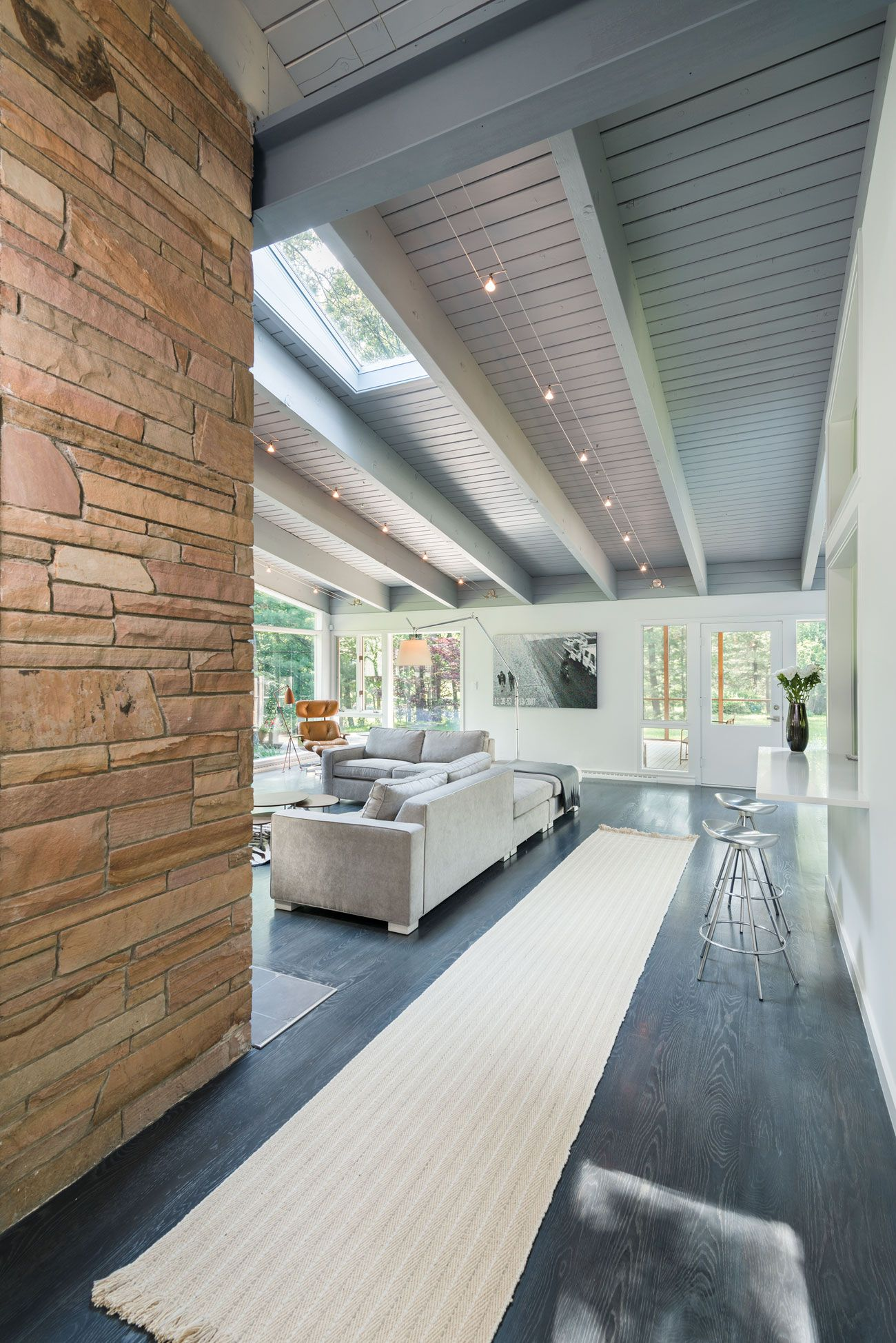 MidCentury Modern Home Design By Flavin Architects CAANdesign - Mid century home design