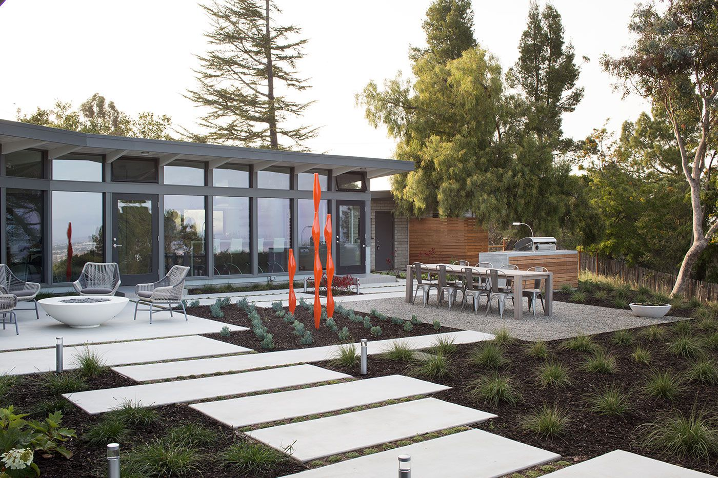 Mid Century Modern Remodel mid-century modern view house remodelklopf architecture