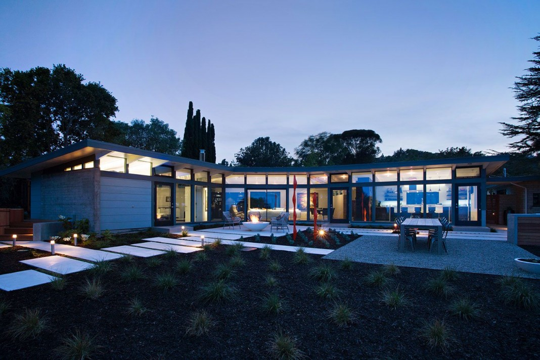 Mid-Century Modern View House Remodel by Klopf Architecture