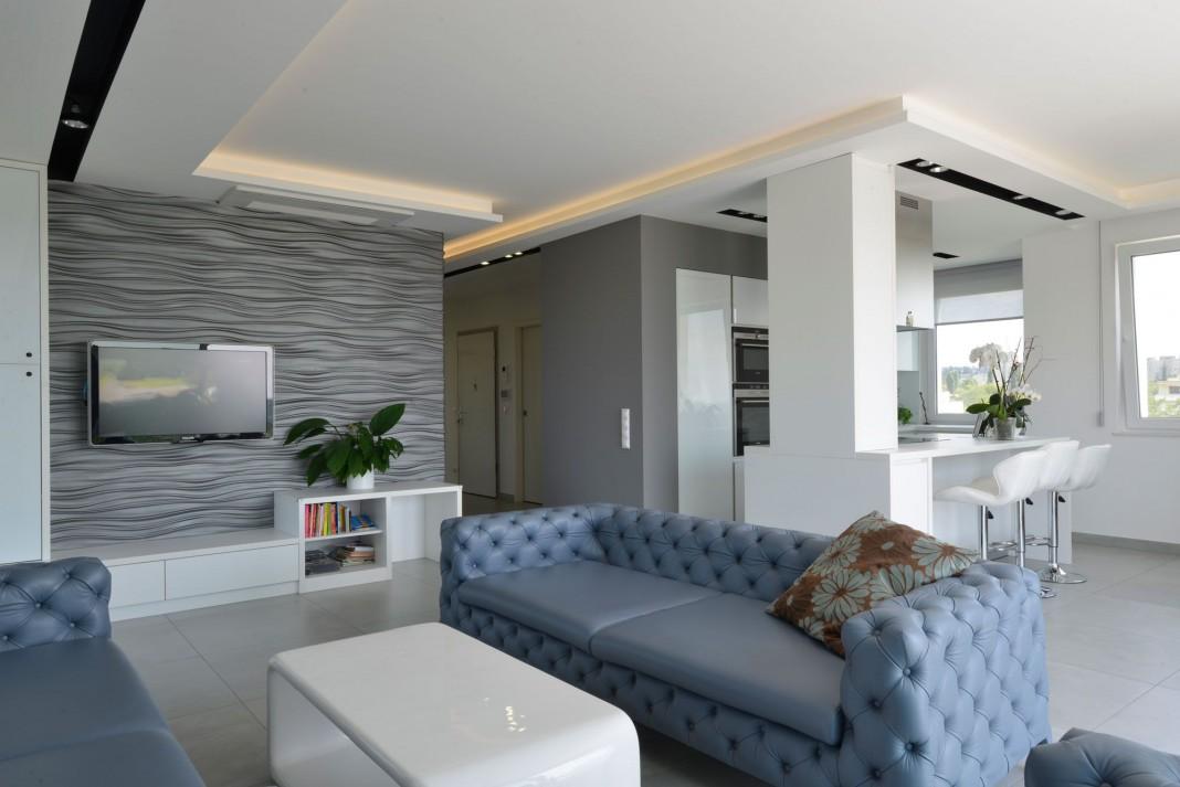 Minimalist Penthouse by Adamdesign Belsőépítész Studio