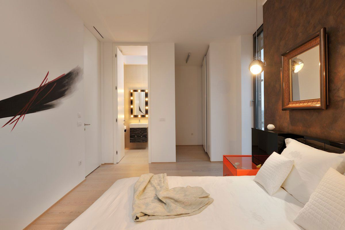 Model apartment in ljubljana by gao archiects caandesign for Living in a model apartment
