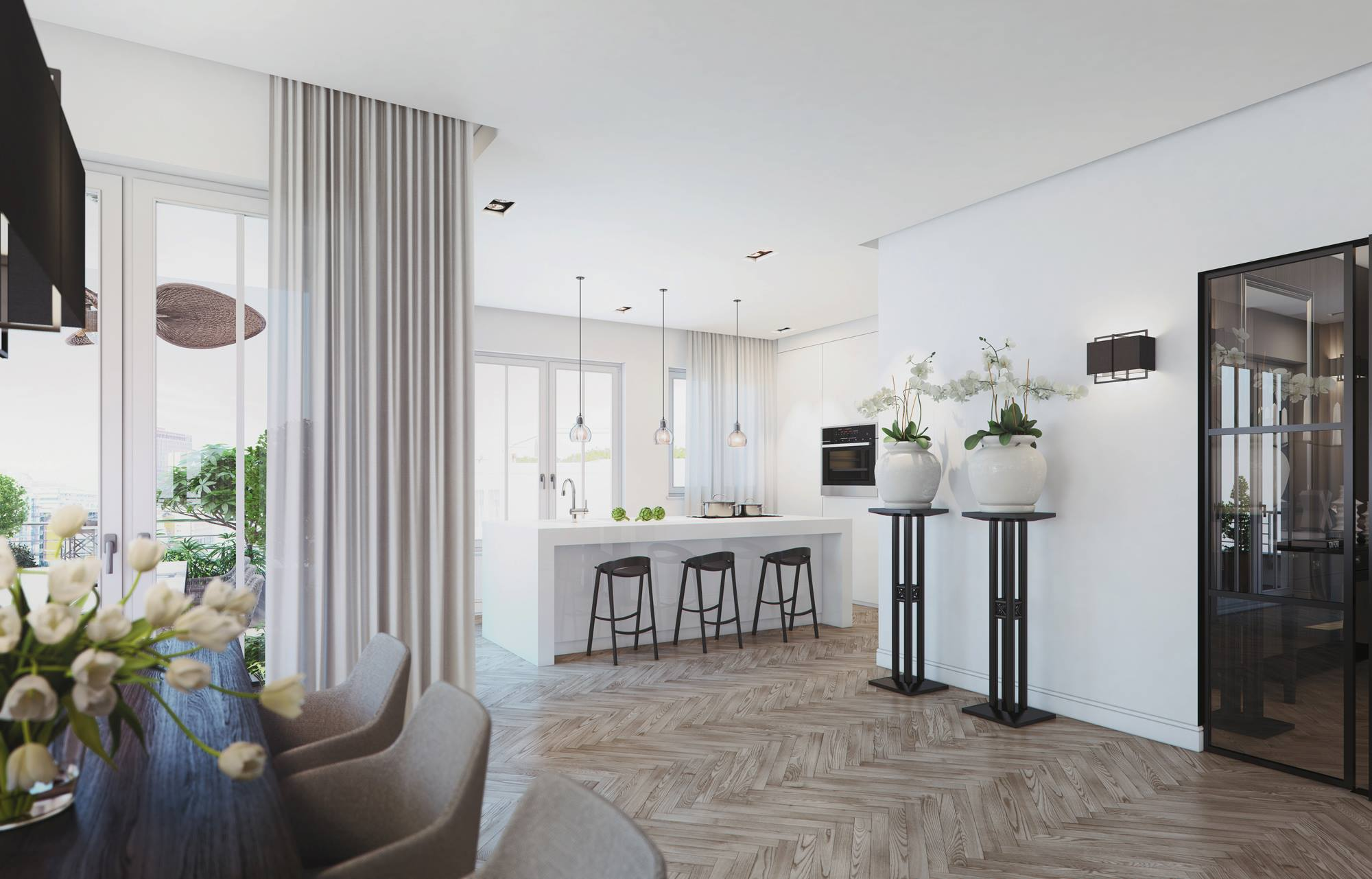 Modern Penthouse Design in Berlin-10