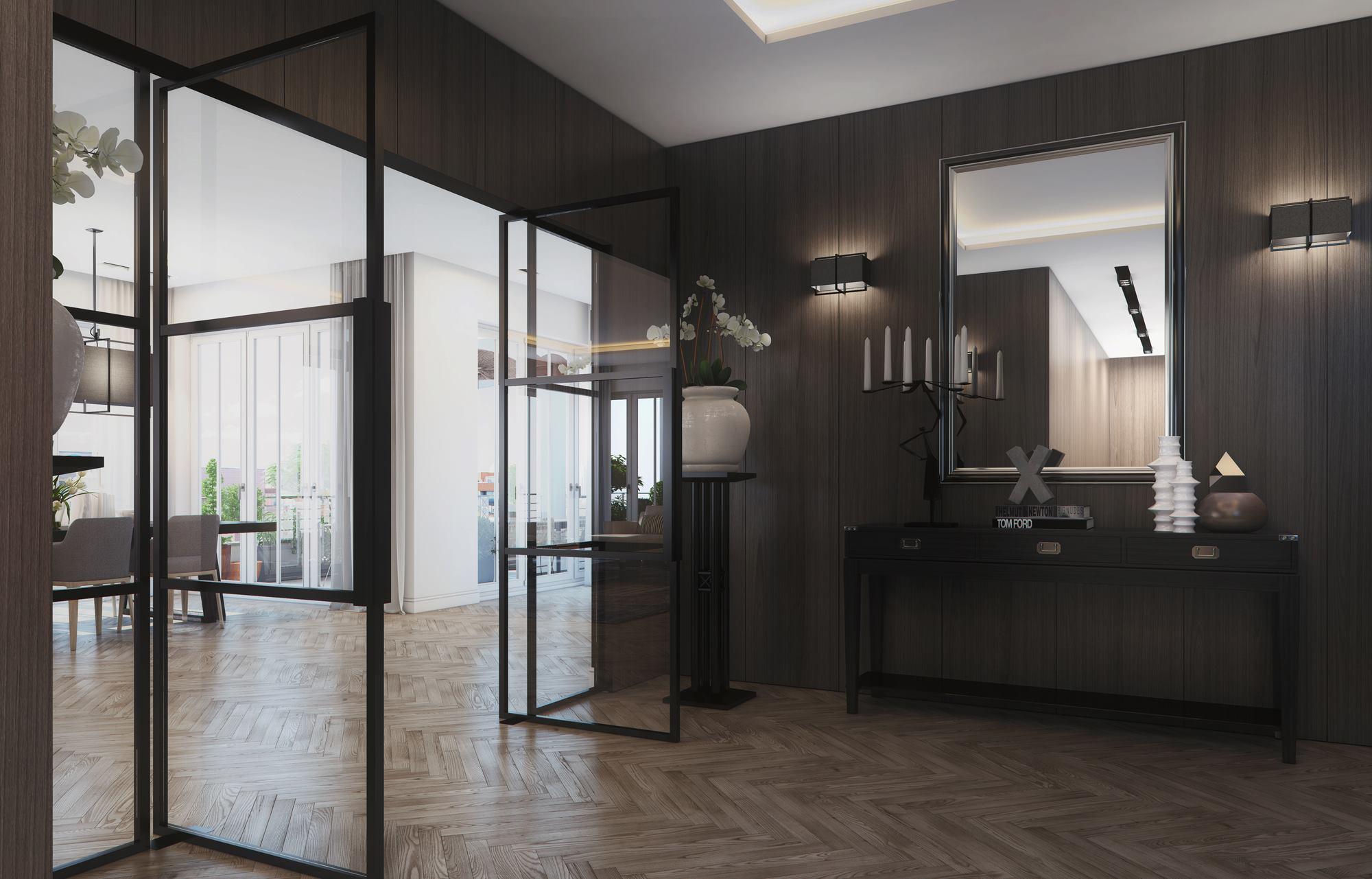 Modern Penthouse Design in Berlin-11