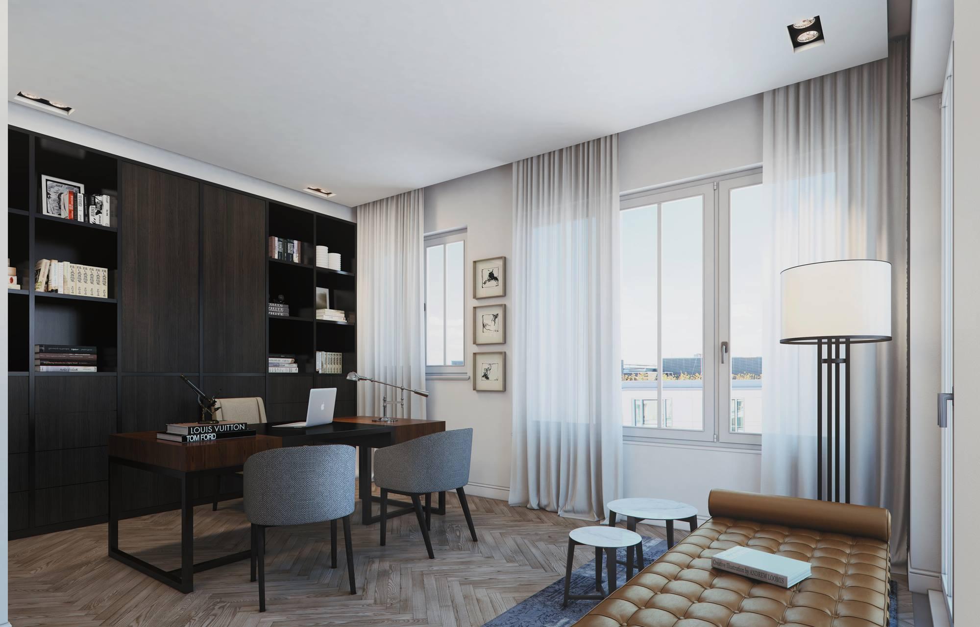 Modern Penthouse Design in Berlin-17