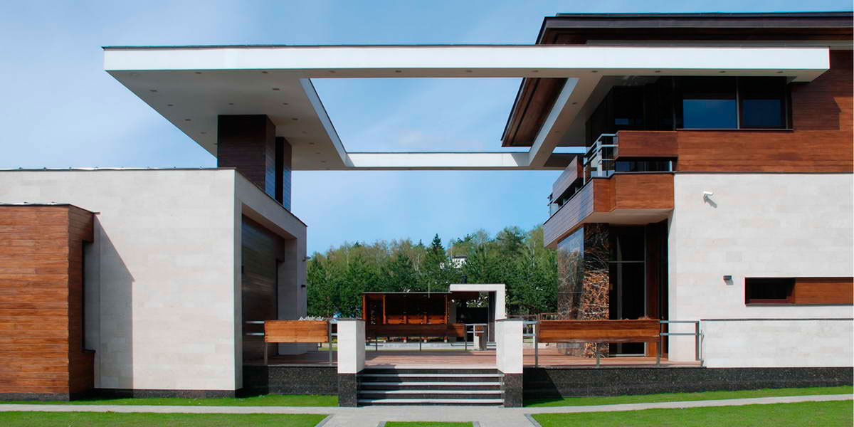 Modern S Mansion near Moscow by Fourth Dimension-01