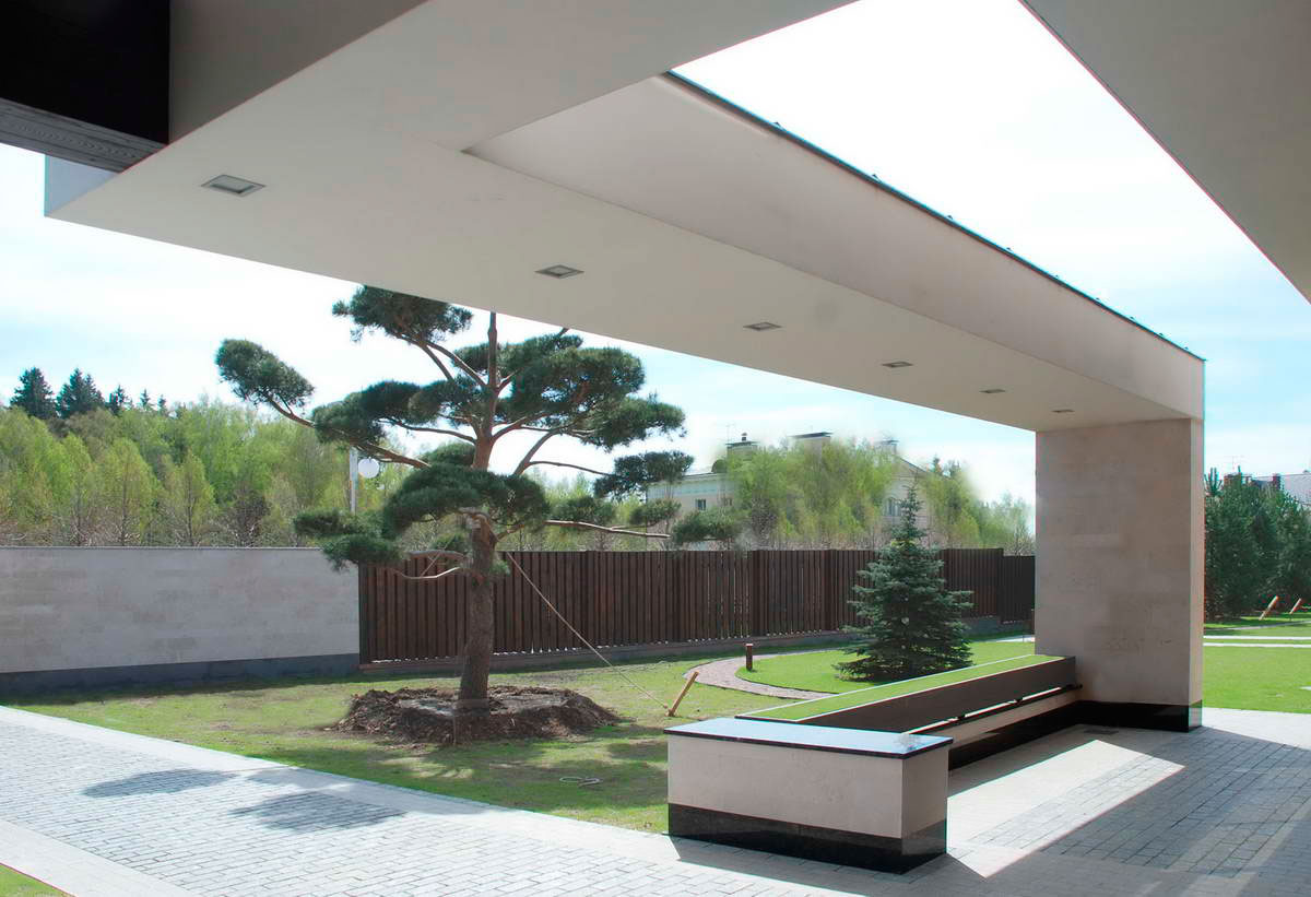 Modern S Mansion near Moscow by Fourth Dimension-04