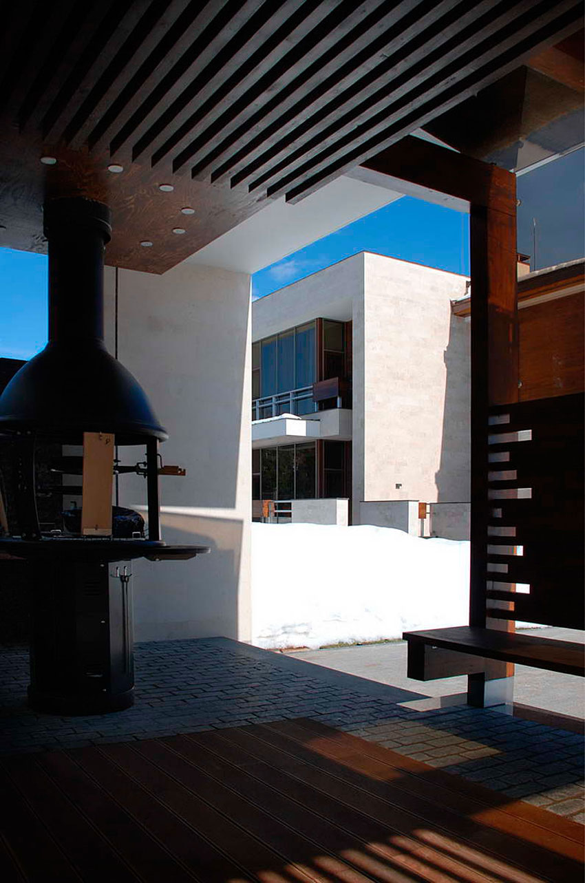 Modern S Mansion near Moscow by Fourth Dimension-06