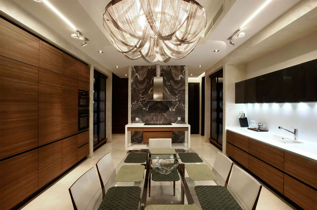 Modern S Mansion near Moscow by Fourth Dimension-11