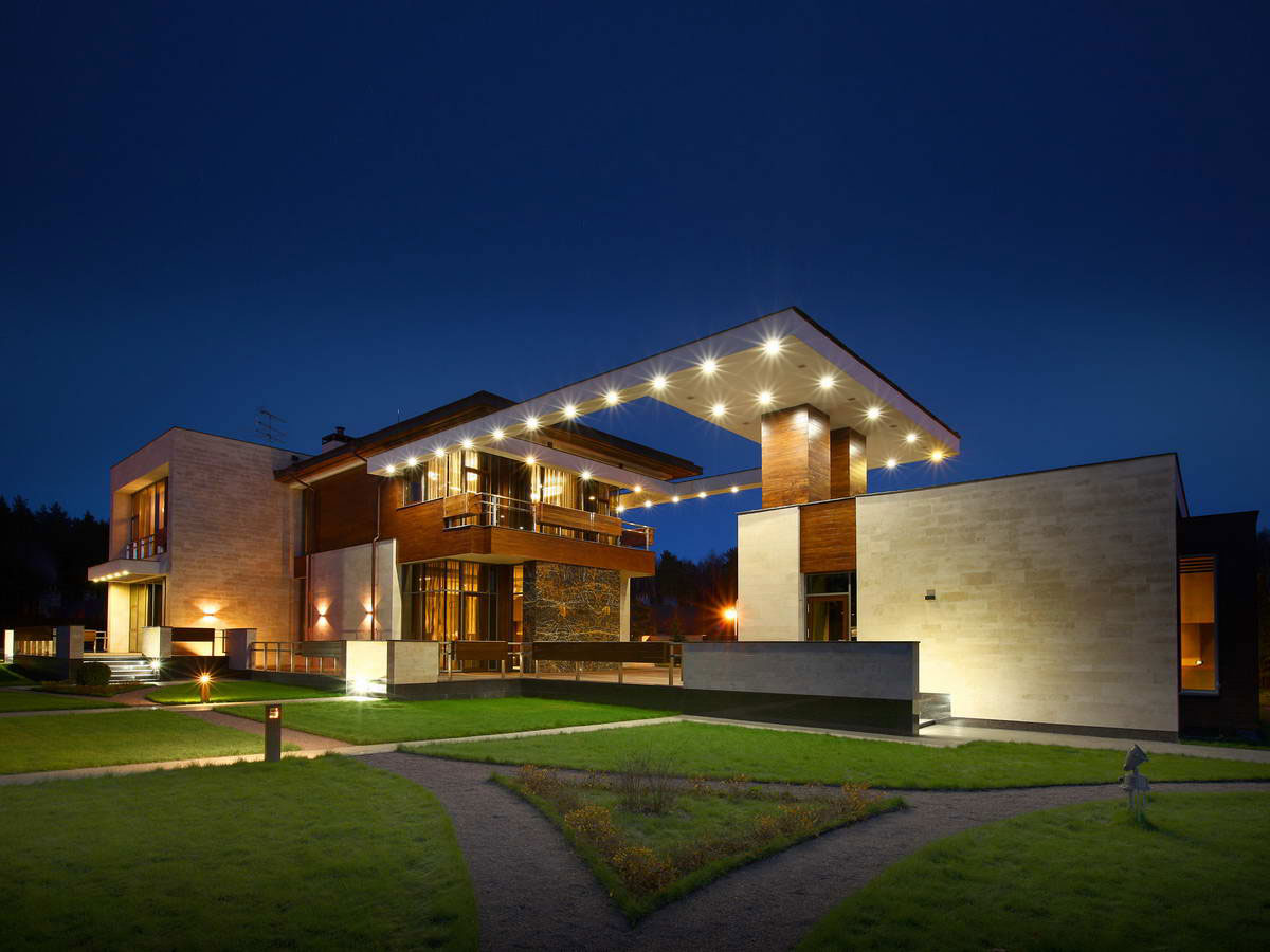 Modern S Mansion Near Moscow By Fourth Dimension