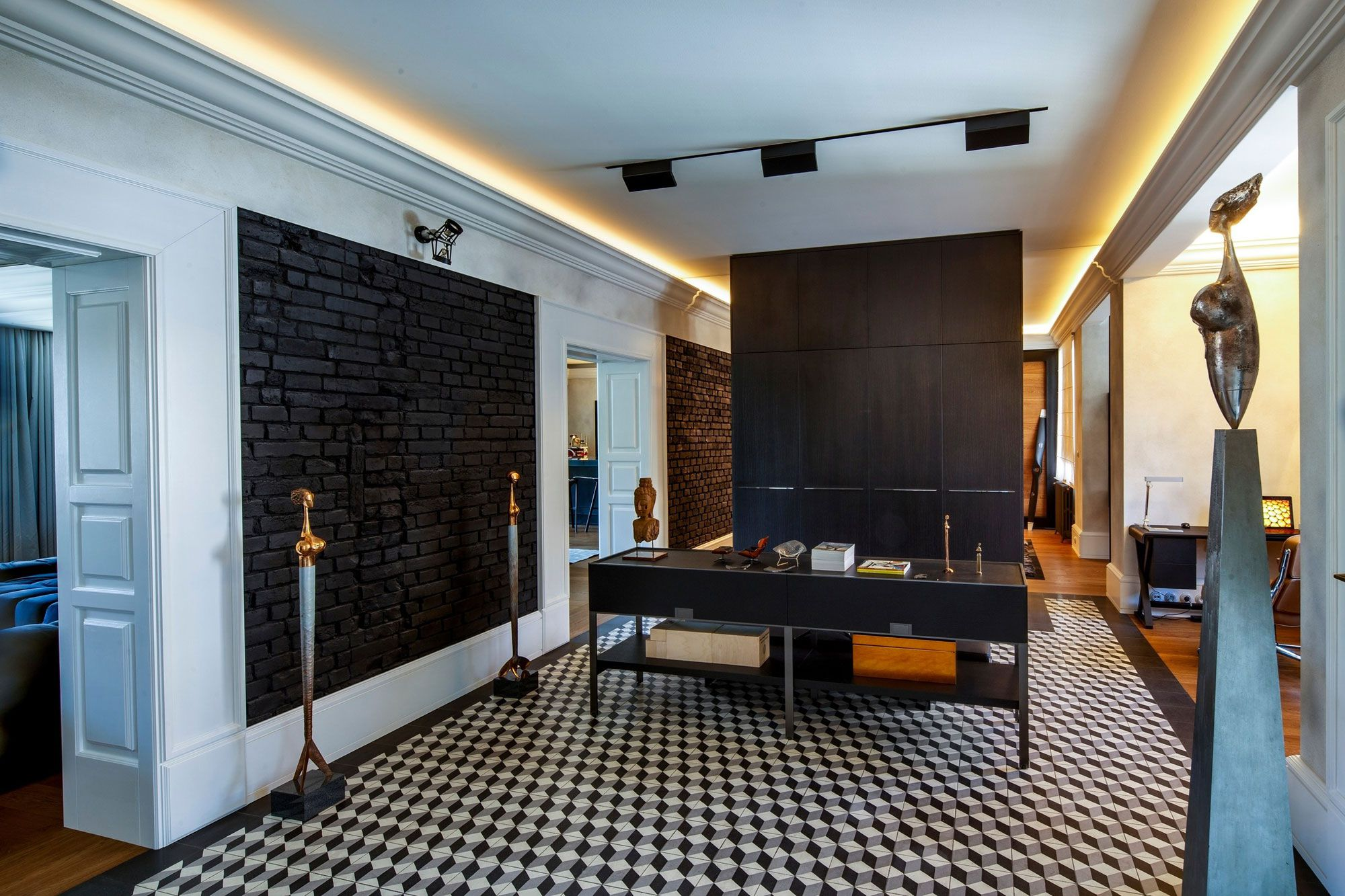 Modern Style of Man Choice 2 Apartment-11