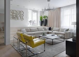 Moscow Stylish Apartment by Alexandra Fedorova