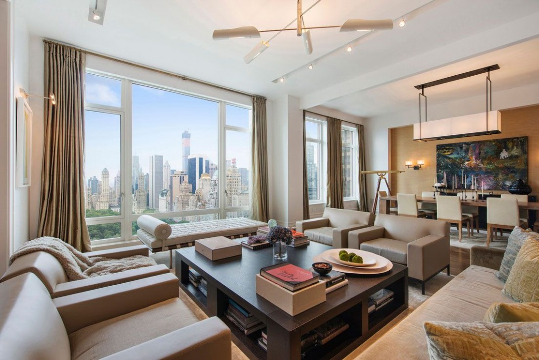 New york luxury and elegant apartment near central park for Luxury new york city apartments