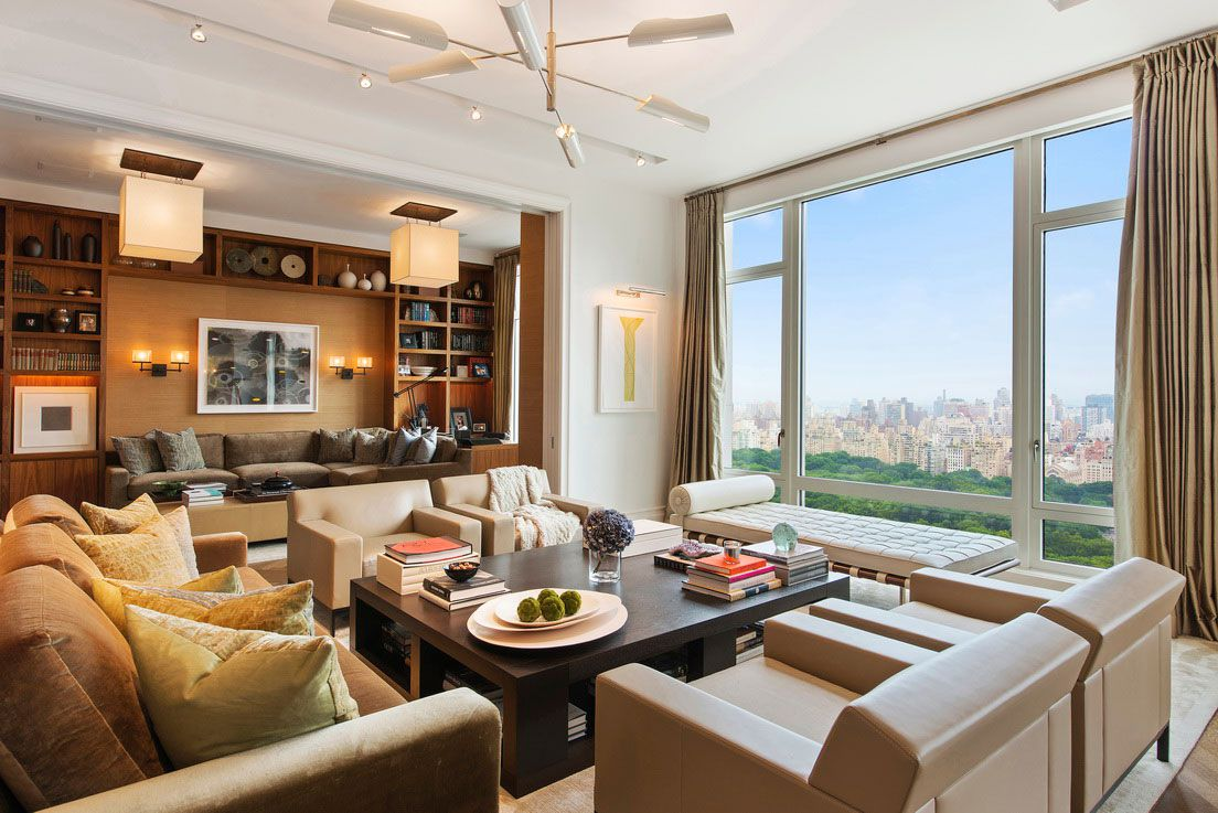 New york luxury and elegant apartment near central park for Apartment design new york
