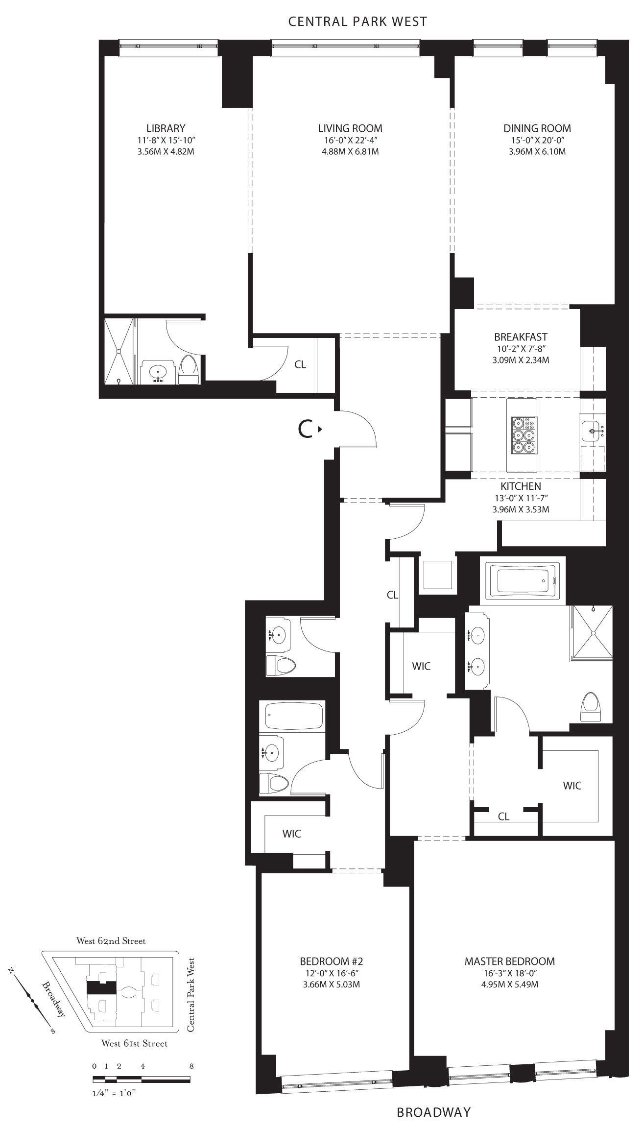 New York Luxury and Elegant Apartment Near Central Park-14