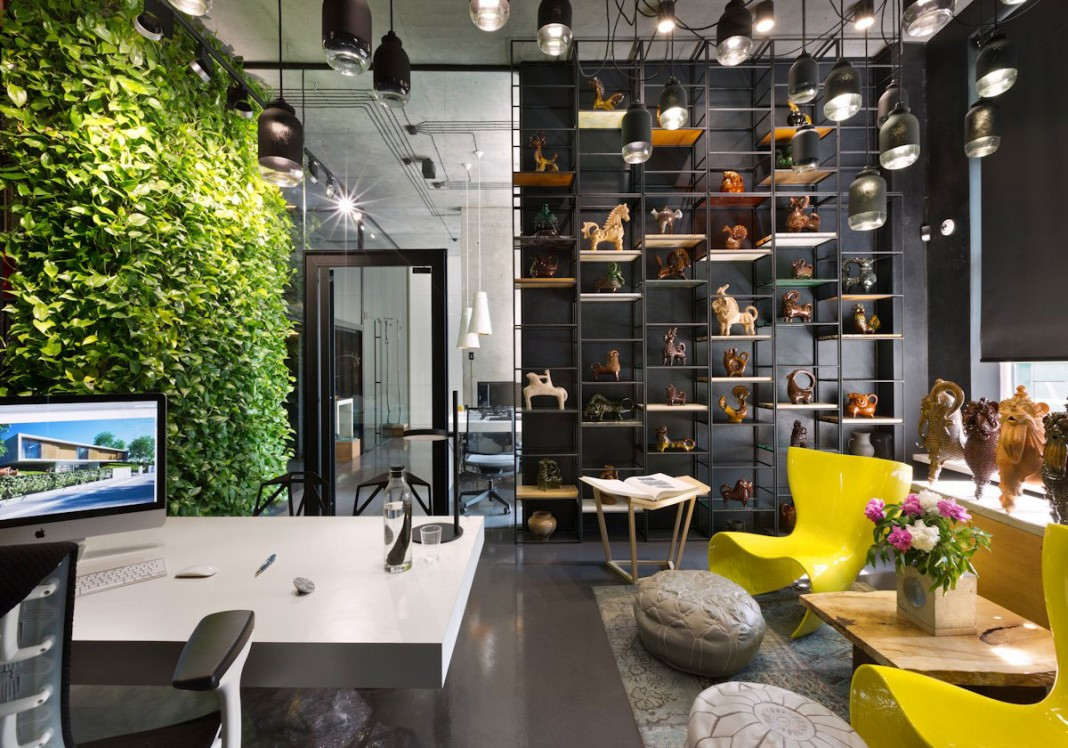 Sergey Makhno Office and Showroom by Sergey Makhno