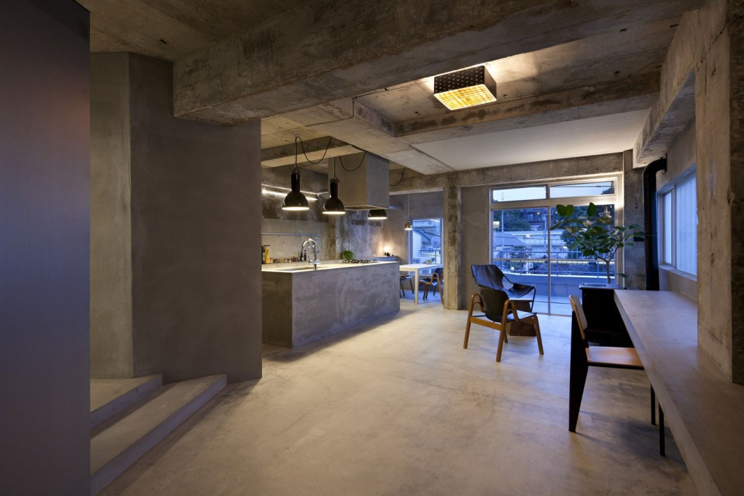 Renovation in Jiyugaoka by Airhouse Design Office