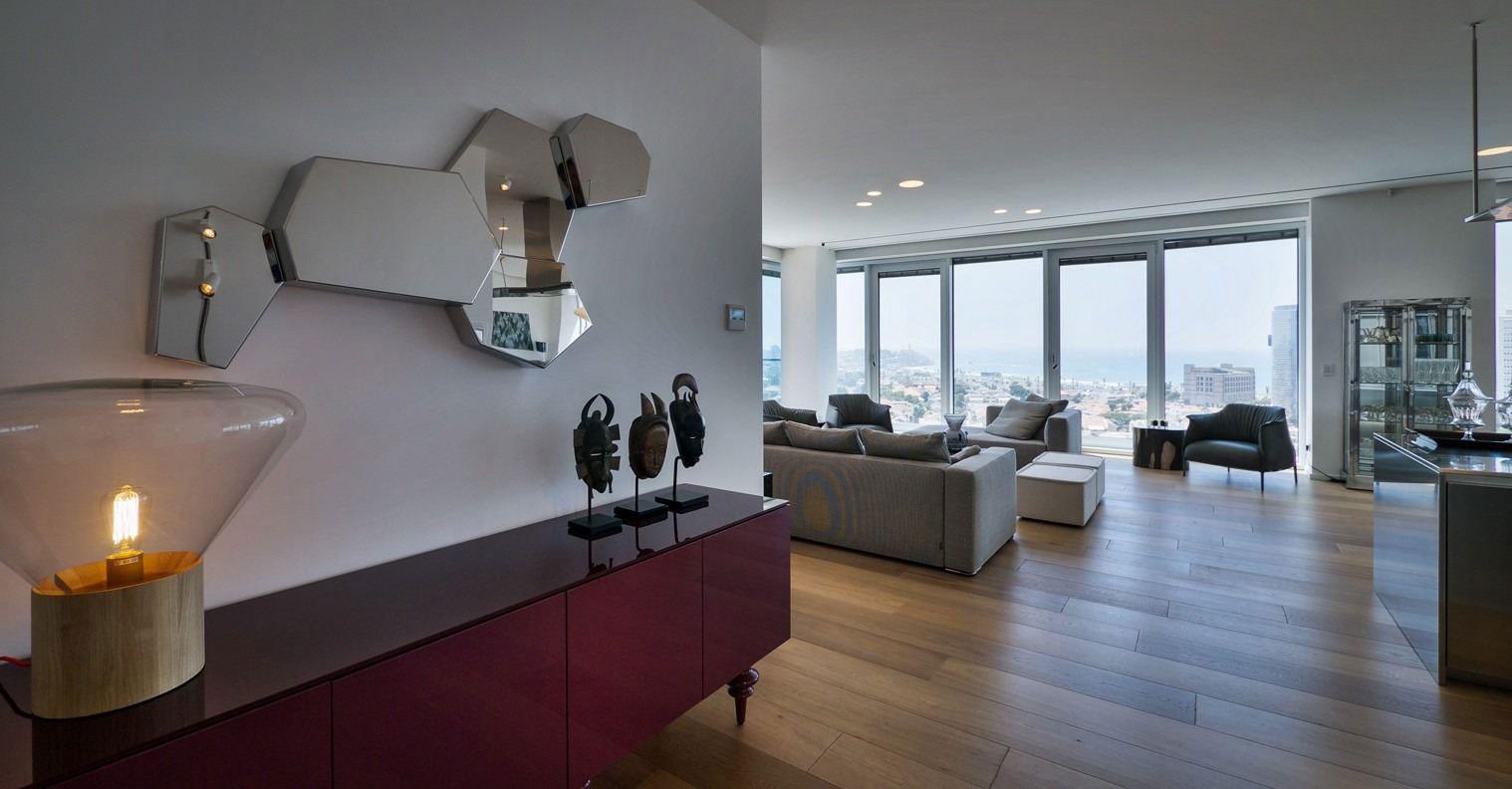 Rothschild 1 Tower Condominium Lev Gargir Architects-01