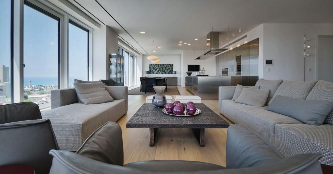 Rothschild 1 Tower Condominium by Lev – Gargir Architects