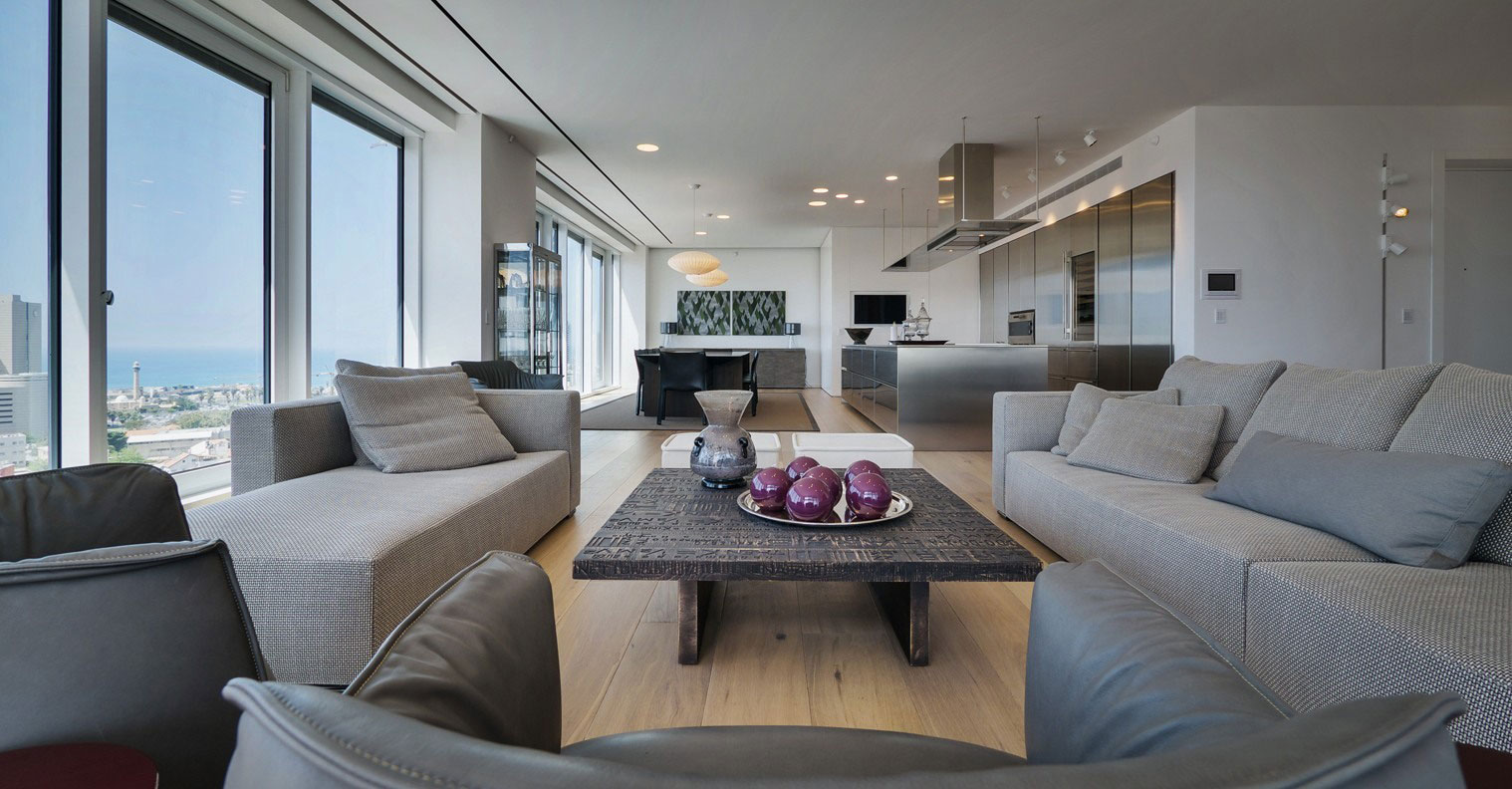 Rothschild 1 Tower Condominium Lev Gargir Architects-02