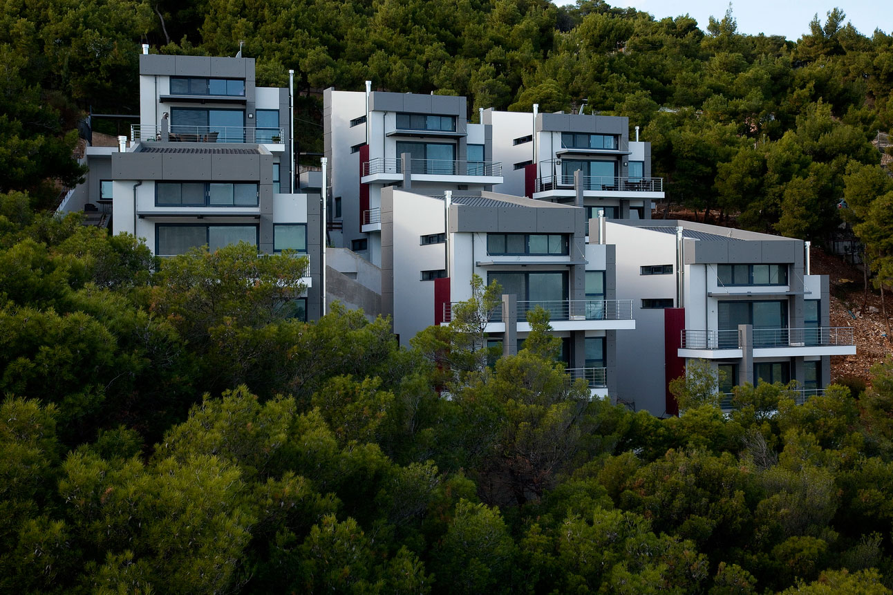 Six Contemporary Houses Cluster Creative Architecture Studio-01