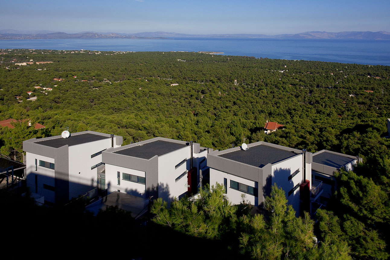Six Contemporary Houses Cluster Creative Architecture Studio-02
