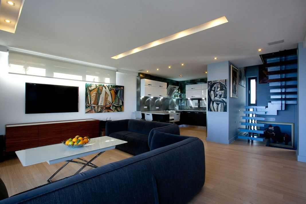 Six Contemporary Houses Cluster by Creative Architecture Studio