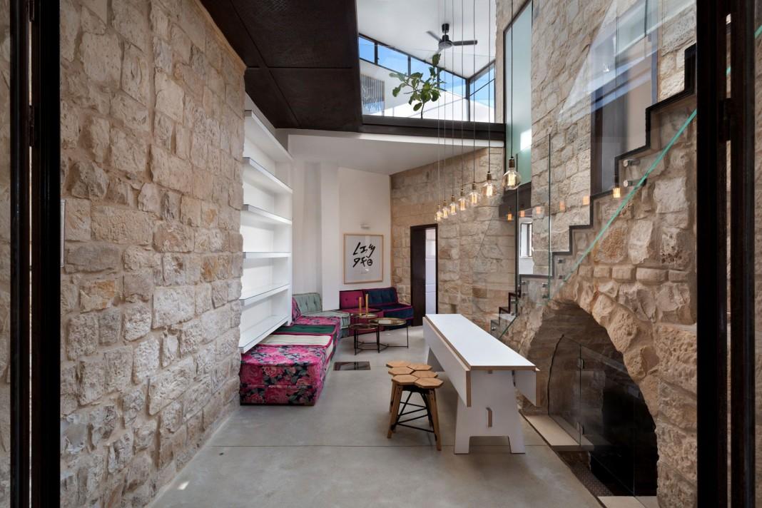 Stone House Conversion by Henkin Shavit Architecture & Design ... on
