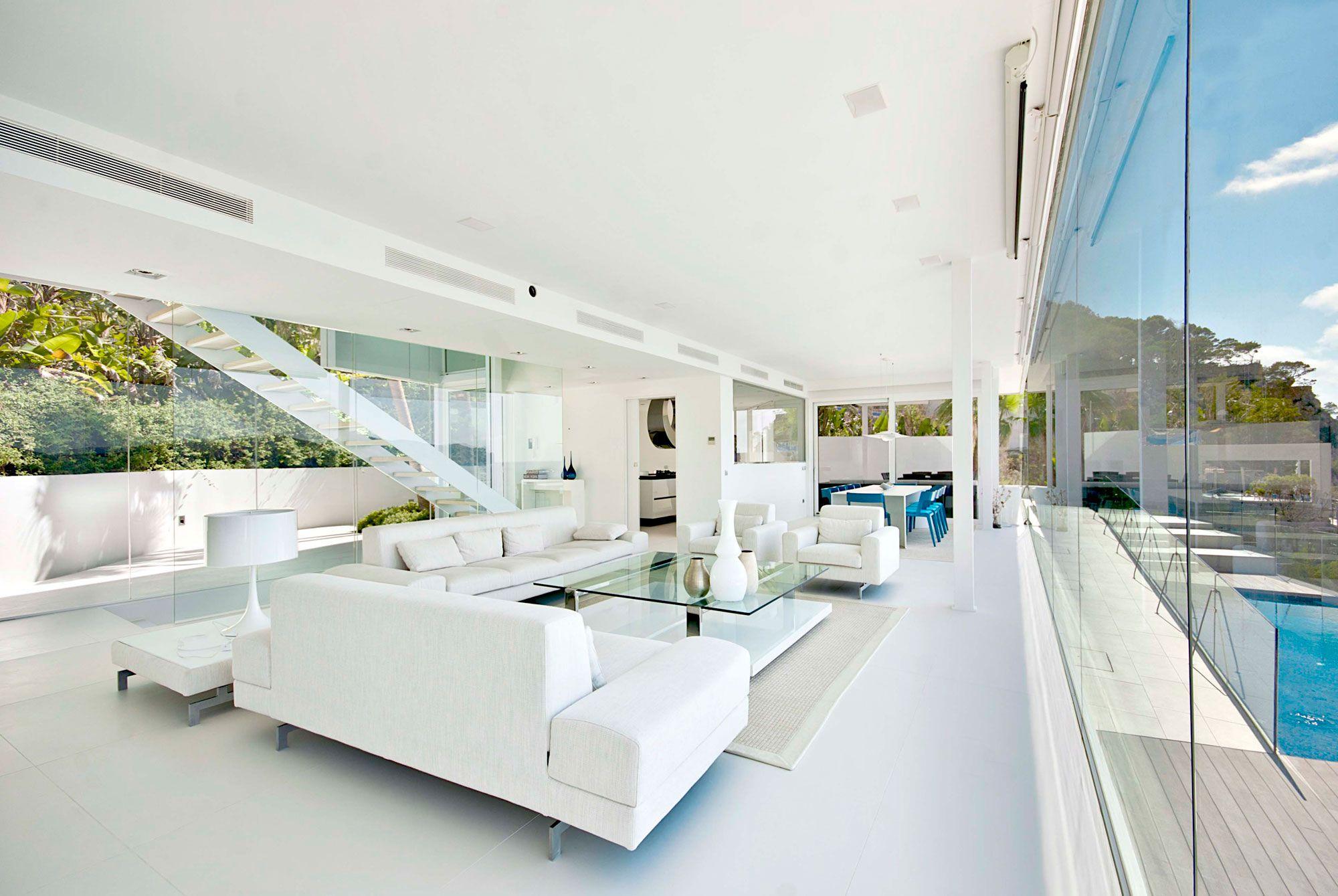 Stunning Ultramodern Meditetranian Villa Gold in Mallorca-09