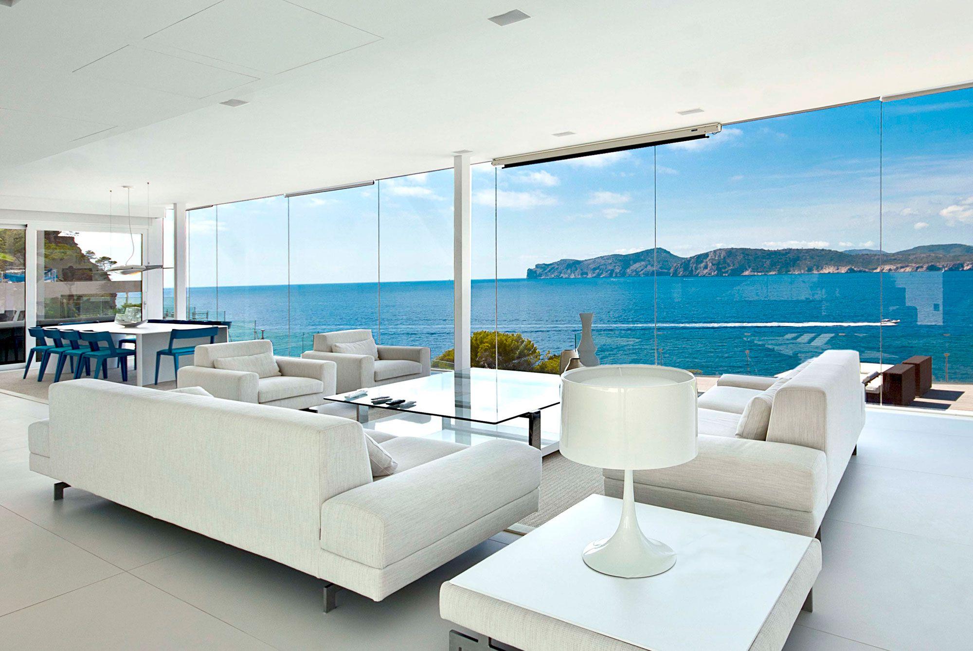 Stunning Ultramodern Meditetranian Villa Gold in Mallorca-11