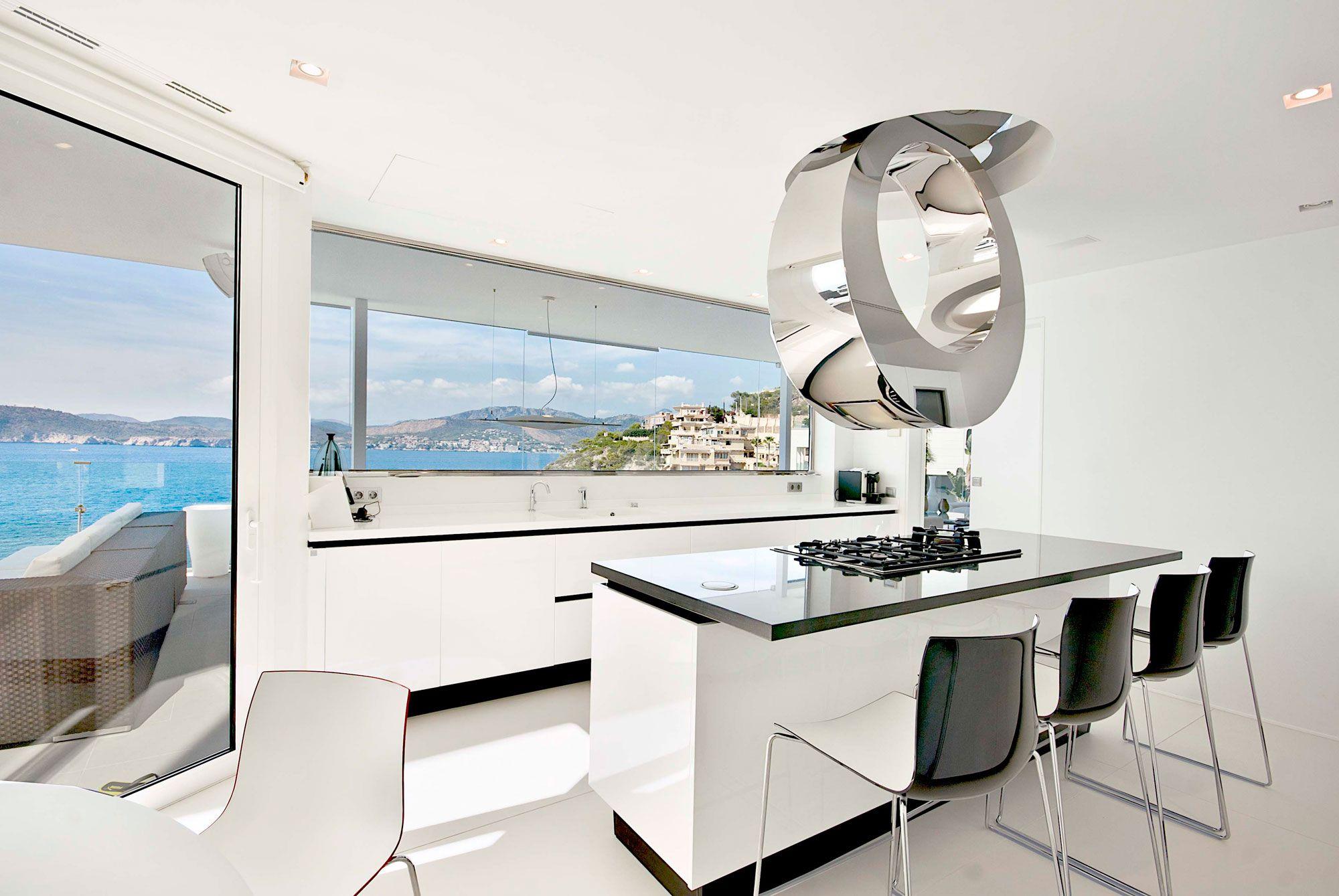 Stunning Ultramodern Meditetranian Villa Gold in Mallorca-12