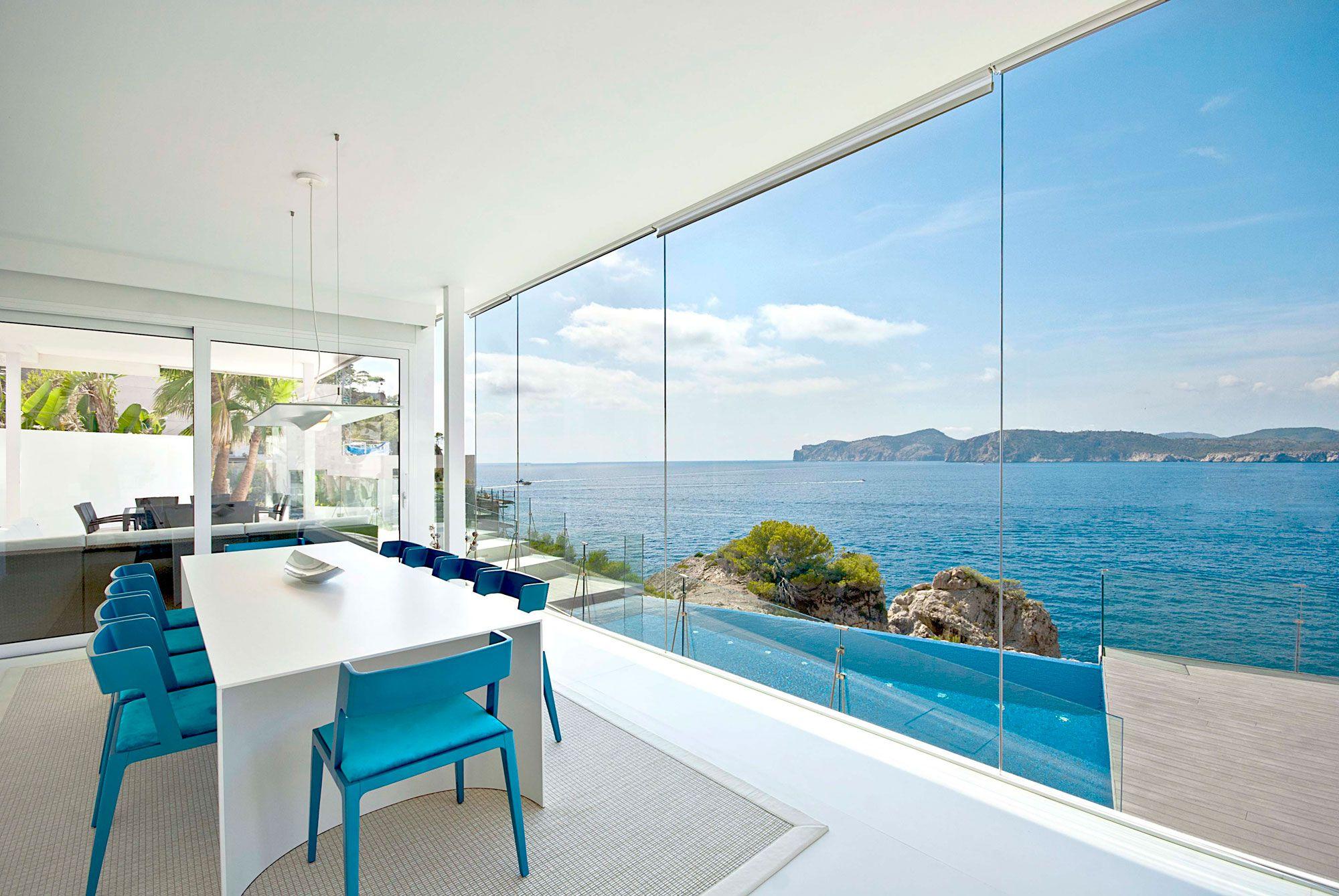 Stunning Ultramodern Meditetranian Villa Gold in Mallorca-13