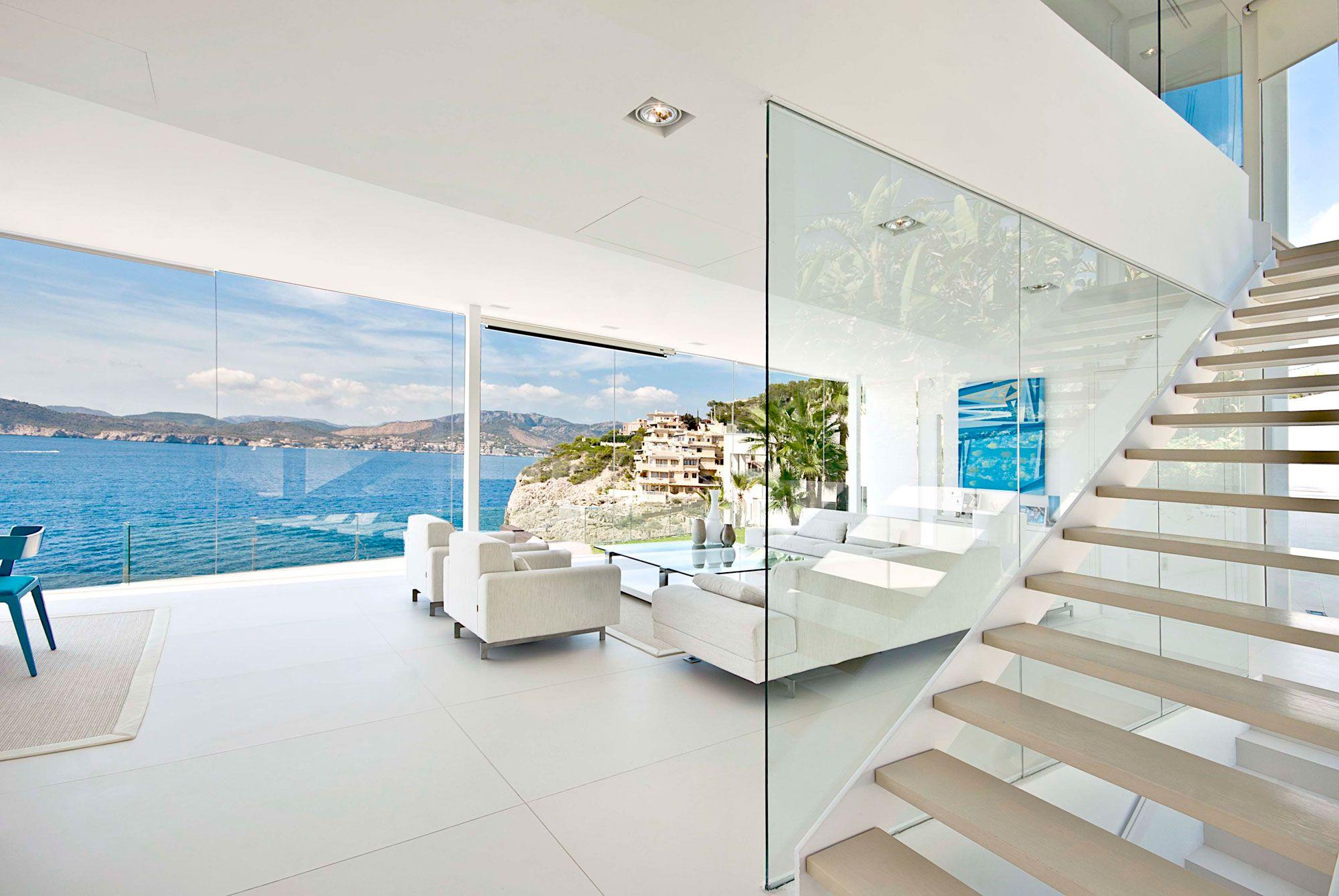 Stunning Ultramodern Meditetranian Villa Gold in Mallorca-14