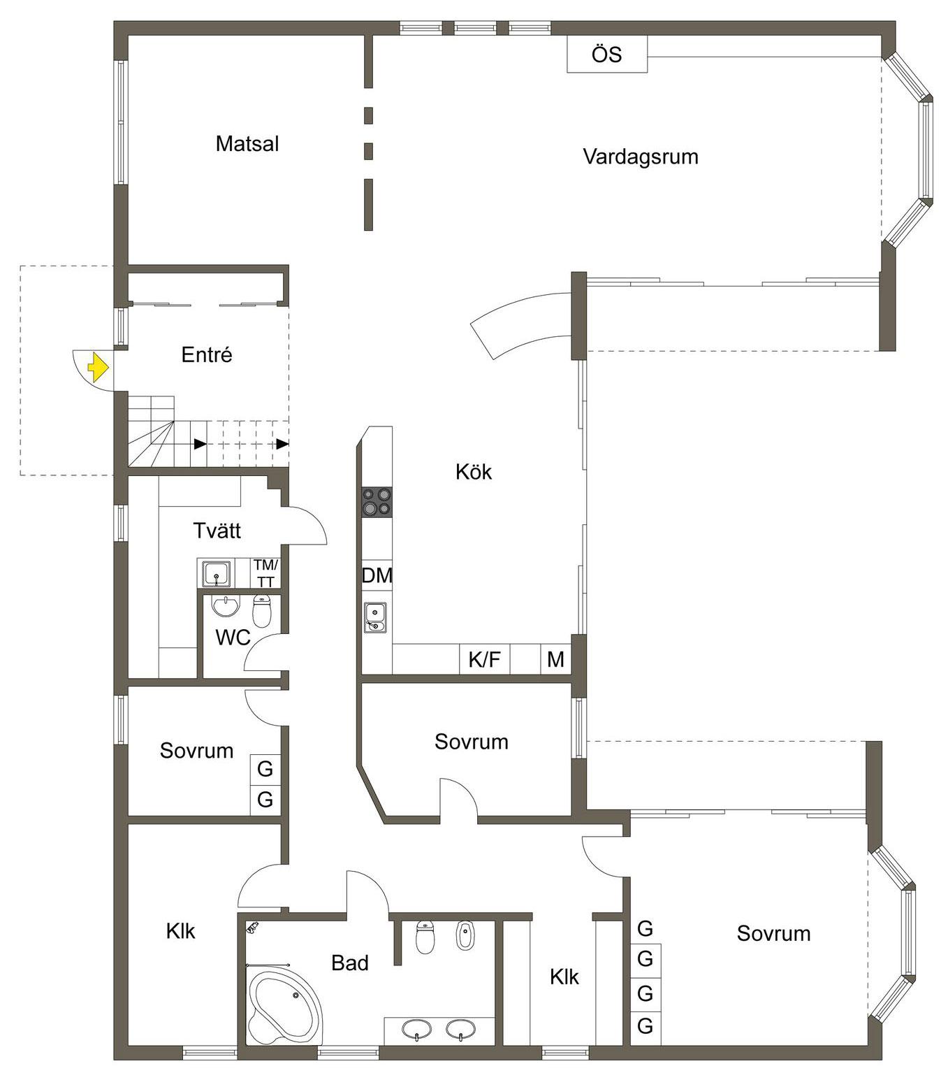 Stylish Home in Särö Sweden-54
