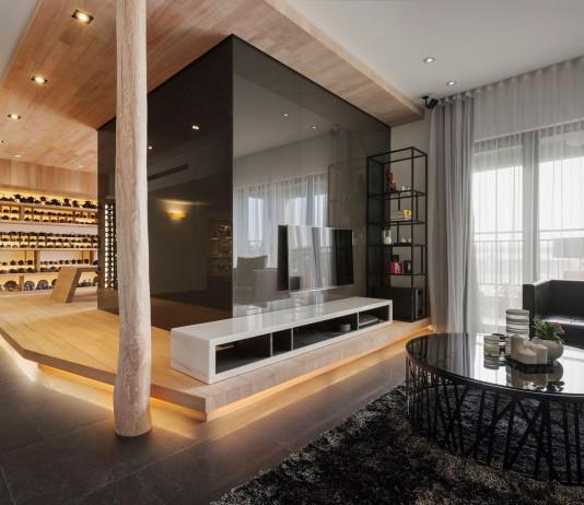 Tea – Art Apartment by J.C. Architecture