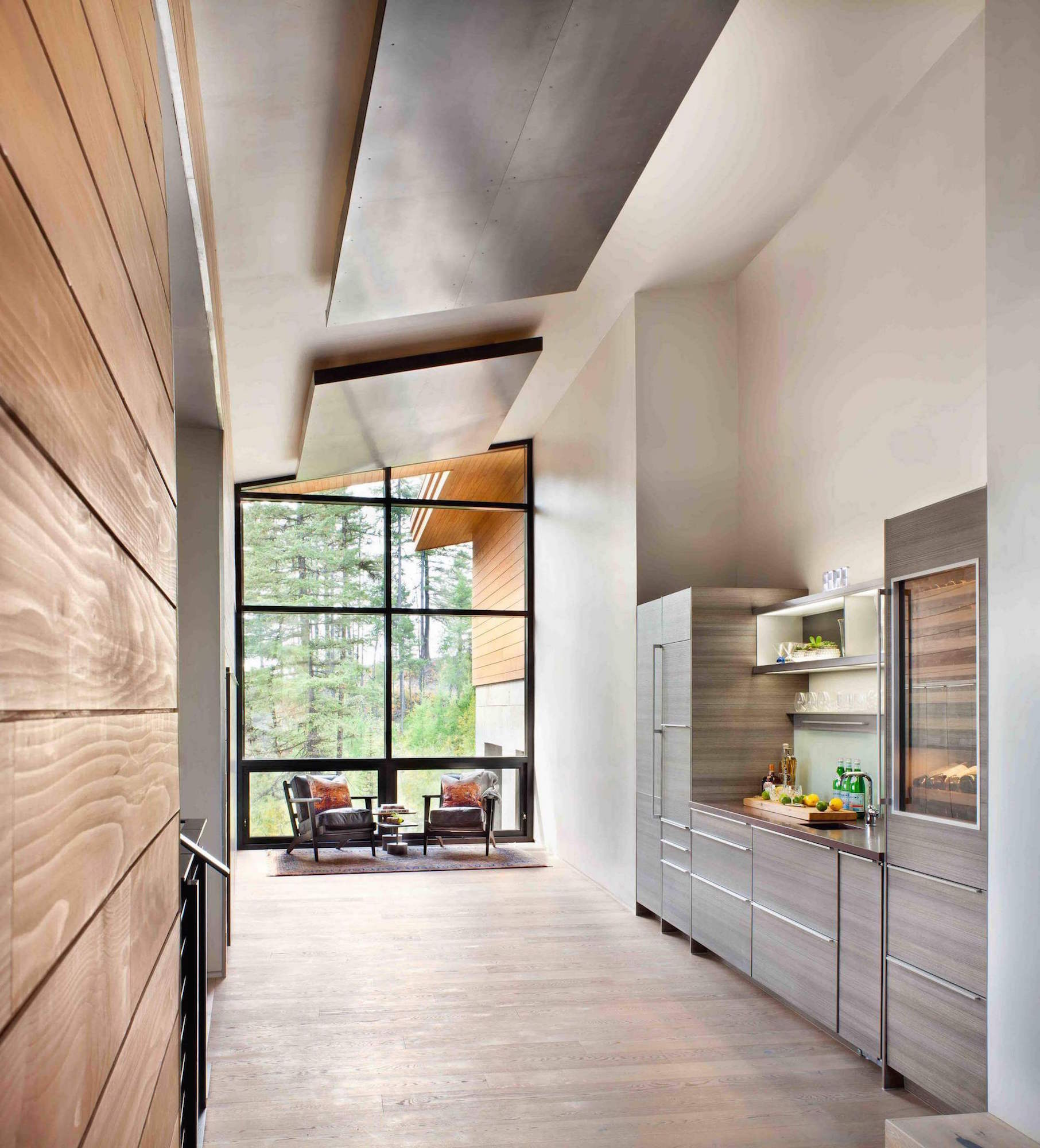 The elk highlands residence by stillwater architecture for Architecture petite maison moderne