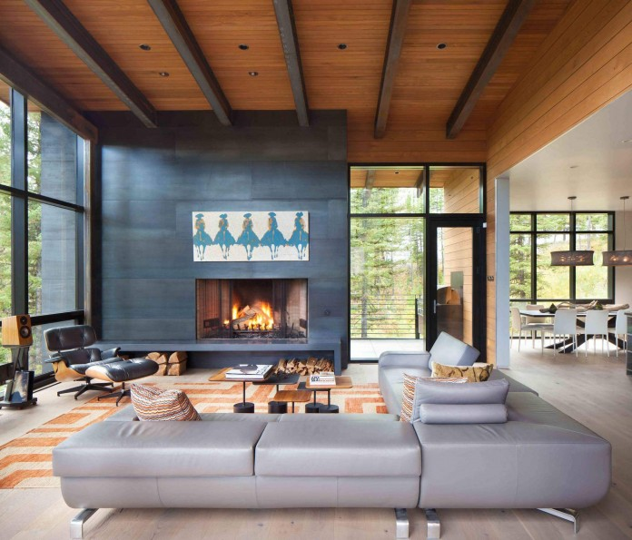 The Elk Highlands Residence by Stillwater Architecture