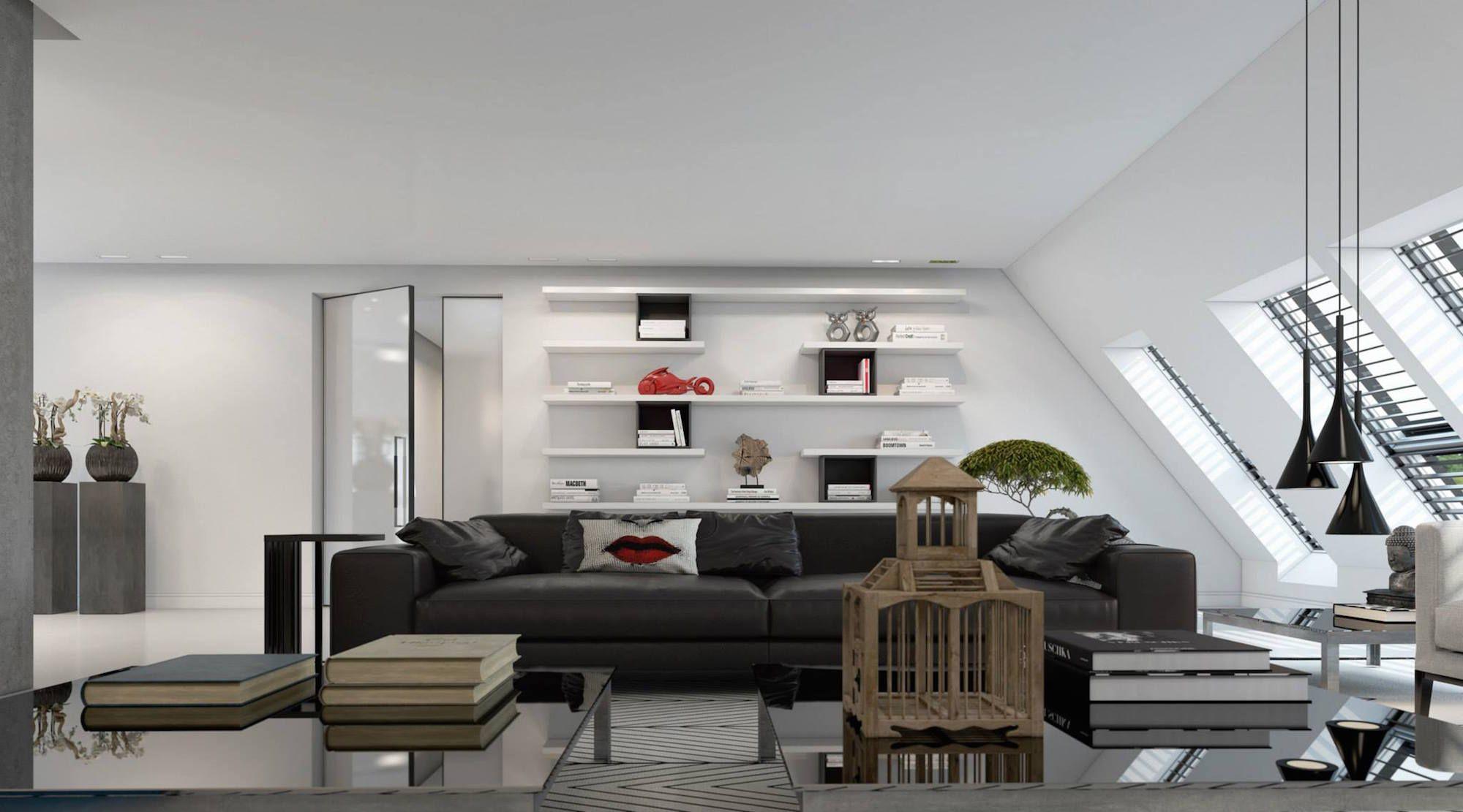 Ultramodern Dusseldorf Penthouse Design-04