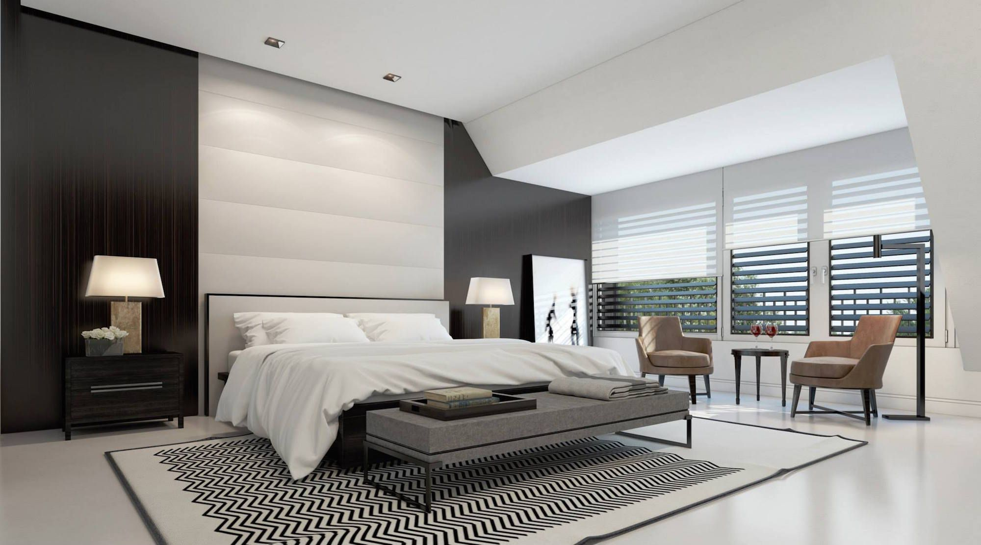 Penthouse Design related keywords & suggestions for ultra modern master bedrooms