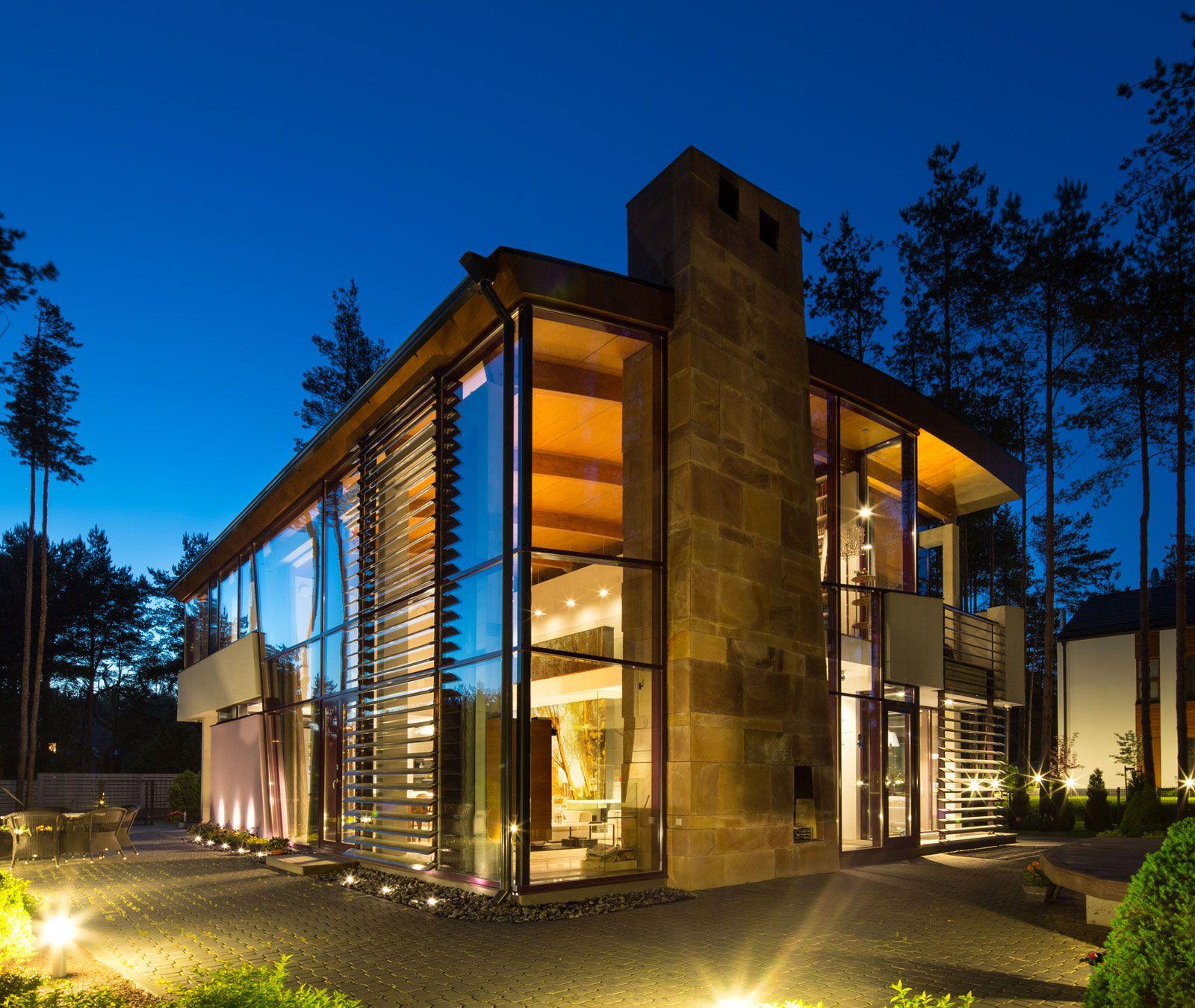 Ultramodern Villa Estebania Near the Forrest by Arch-D-14